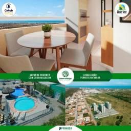 Green Village - 3 qtos + suite + Varanda Gourmet c/ Churrasqueira - ITBI+Cartório Gratis!