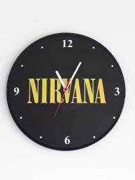 Relógios de parede em disco de vinil