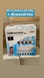 Troco um kit câmeras na caixa por um celular novo na caixa também