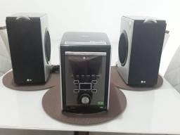 Mini system LG aparelho de som