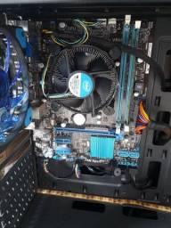 Placa mae azus + processador  i3  2100 + 4g de ram