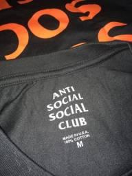 Assc Anti Social Club Mind Games Laranja