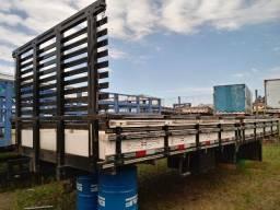 Carroceria de madeira 7.00mt para caminhão toco