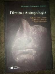"""Livro seminovo """"Direito e Antropologia"""""""