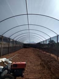 01 Estufa Agrícola (Parte aérea) de 8m x 45m para Cultivo/Produção/Cobertura
