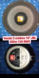 Par de Médio grave JBL 10 polegadas