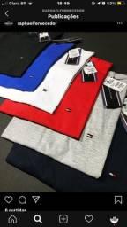 Camisetas tommy Hilfiger e Lacoste