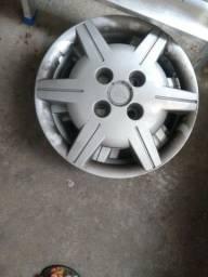 Calotas 13 + rodas de ferro Volkswagen 14