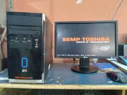 Computador semp toshiba core 2 duo 7500@ 2,93GHz