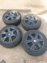 Rodas 16 Vectra elite com pneus