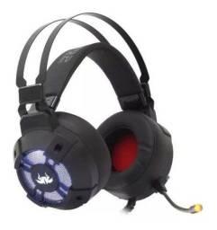 Fone Headset Gamer 7.1 Jogos Usb Pc Vibration Extreme Kp-446