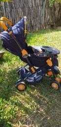 Vendo carrinho de bebê reversível