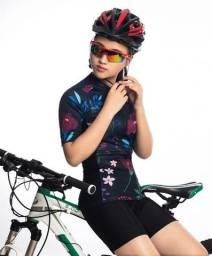 Conjunto feminino ciclismo