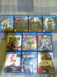 Jogos PS4 venda ou troca