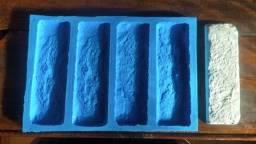 Forma 100%Silicone Para Gesso 3d Tijolinho (Modelo Brick)