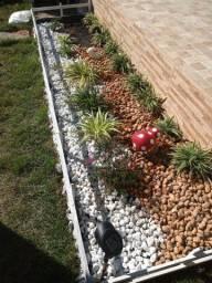 Pedras de jardim