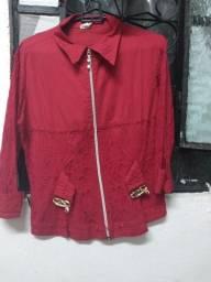 Blusa com renda Tamanho M
