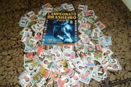 lote ou unidade Figurinhas do campeonato brasileiro 2006