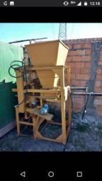 Máquina de bloco hidráulica