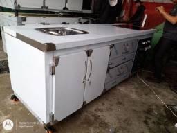 Cozinha industrial aço inox