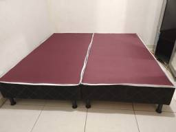 Título do anúncio: Base cama box Queen ou King - frete gratis Ubá