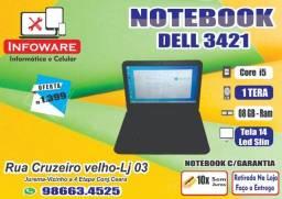 Notebook Dell 3421 Core i5/HD1000GB/08GB Memoria/Garantia