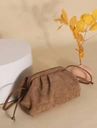 Bolsa vintage inspirada bottega the pouch
