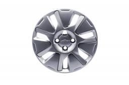 Calota Aro 15 Prata  -  Acessórios Chevrolet  52092918