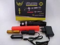 Lanterna Tática T6 Profissional 980000w/116000 Altomex B8626