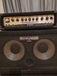 Amplificador de baixo.