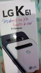 Vendo ou troco um LG k61 novo lançamento por um iphone