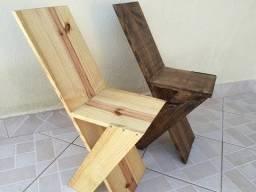 Cadeira Contemporânea 4 unidades