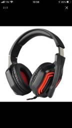 Headset Satellite AE-361R com Led