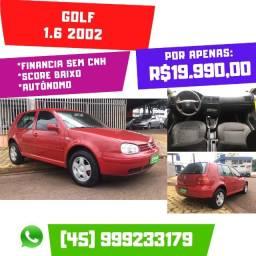 Golf 1.6 2002 Completo Motor Nacional