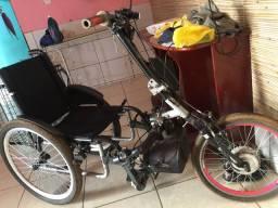 Cadeira de rodas motorizada elétrica