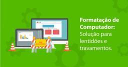 Formatação completa de computadores