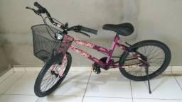 Bicicleta aro 20 semi nova  400