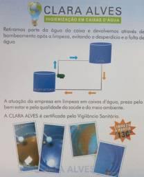 Higienização em Caixas d'água