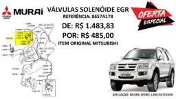 Válvulas Solenóide da EGR - Mitsubishi Pajero Sport e L200 Outdoor (Original)