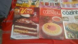 Coleção de revistas de receitas diversas