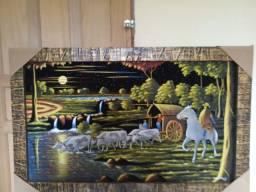 Quadro pintura em tela
