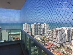 Apartamento com 3 quartos para alugar, 90 m² - Praia de Itaparica - Vila Velha/ES
