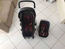 Carrinho Dzieco + bebê conforto