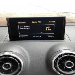 Tela Multimídia Audi A3 1.4 2014 15 16 Original Testada