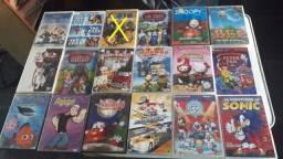 29 Dvds originais de desenho