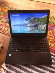 Notebook positivo core i3 sexta geração  1 tera