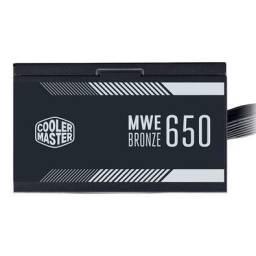 Fonte Cooler Master MWE 650w bronze