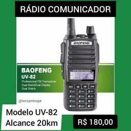 Rádio Comunicador Baofeng UV-82 20KM