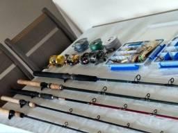 Pesca Esporiva - Tralha de pesca completa