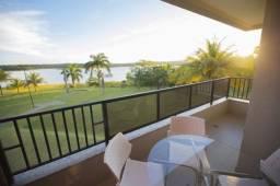 Apartamento Prive Marina Flat Caldas Novas (cota) de apto de 2 quartos de Frente pro Lago